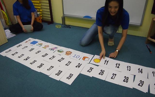 Heguru class in Singapore - Story memory