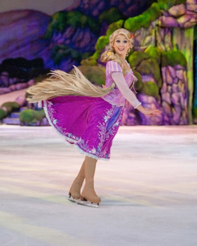 Disney on Ice Rapunzel played by Sofie Roberg