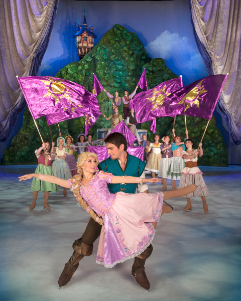 Disney on Ice in- Singapore Meet Rapunzel