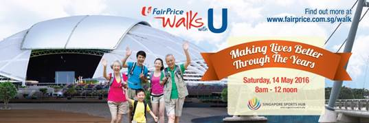 Fairprice Walks with U