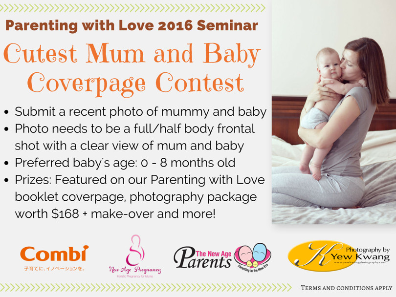 Parenting with Love 2016 Mum and Bub Coverpage Contest (with Combi Logo)