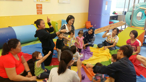 Gymboree Singapore parents and kids