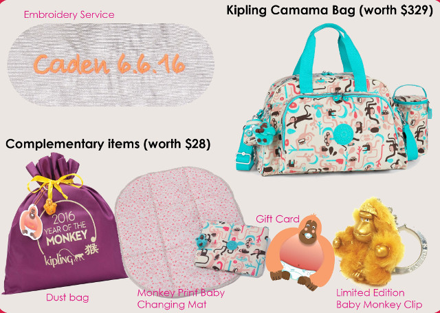 Kipling x The New Age Parents Giveaway