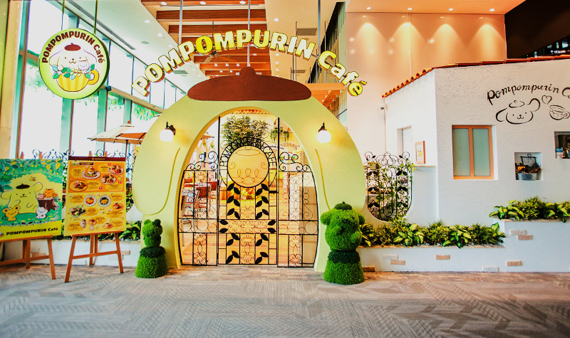 POMPOMPURIN Cafe opens in Singapore