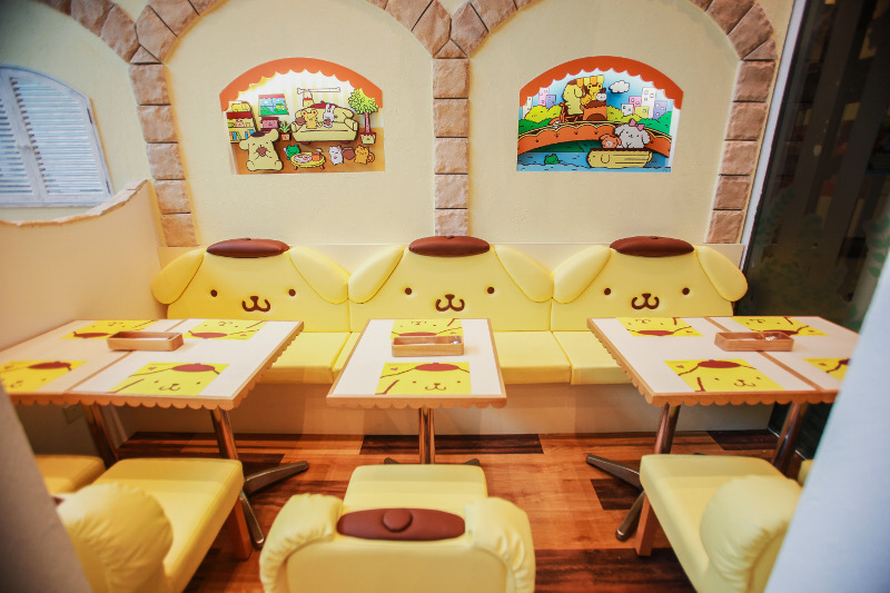 POMPOMPURIN cafe in Singapore