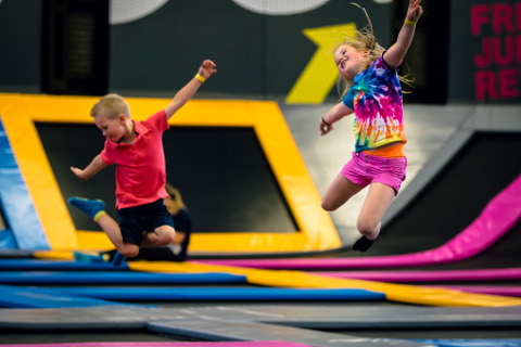 Bounce new indoor trampoline park