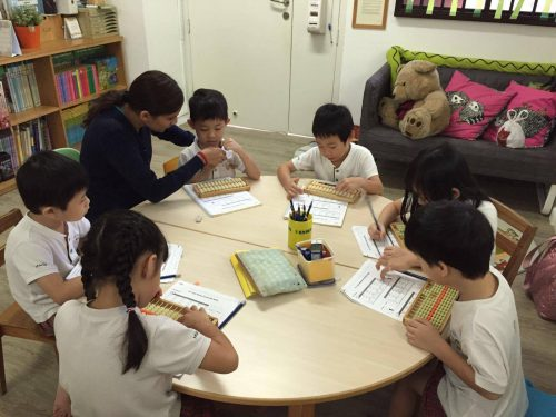 Fun with Abacus class