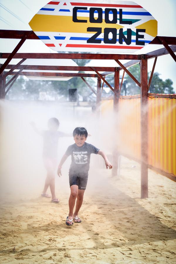 Funfest Sentosa 2016 coolzone
