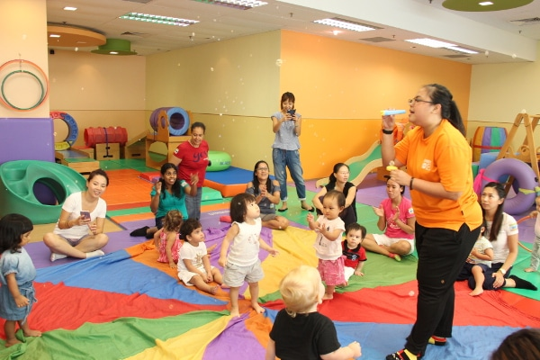 Gymboree play based programmes for kids