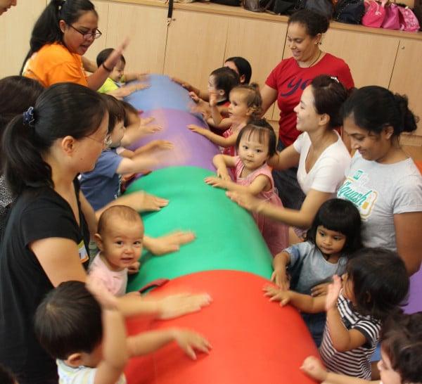 Gymboree playgroup programmes