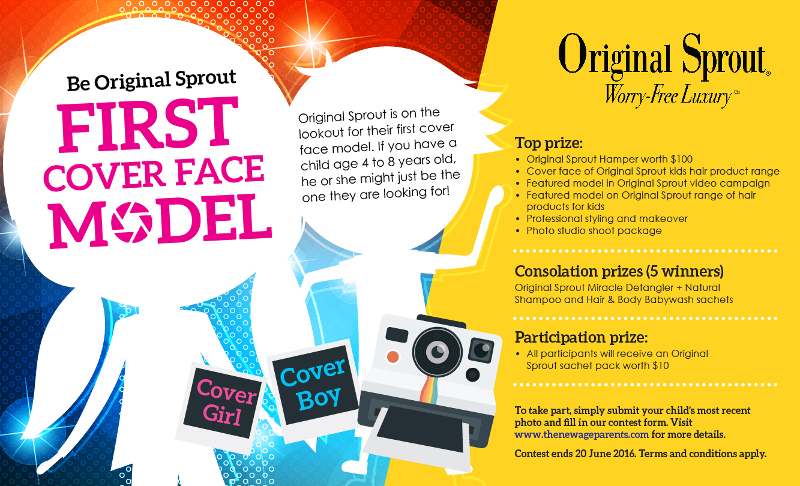 Original Sprout cover face model contest