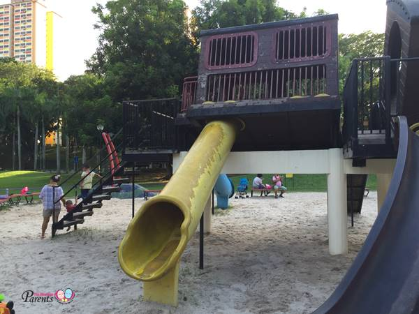 fun train playground at adventure park tiong bahru