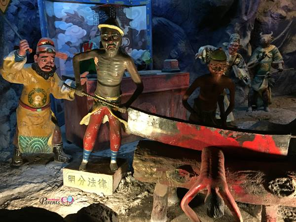 haw par villa ten courts of hell scary punishments