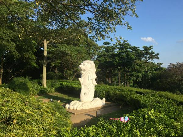 mount faber park merlion