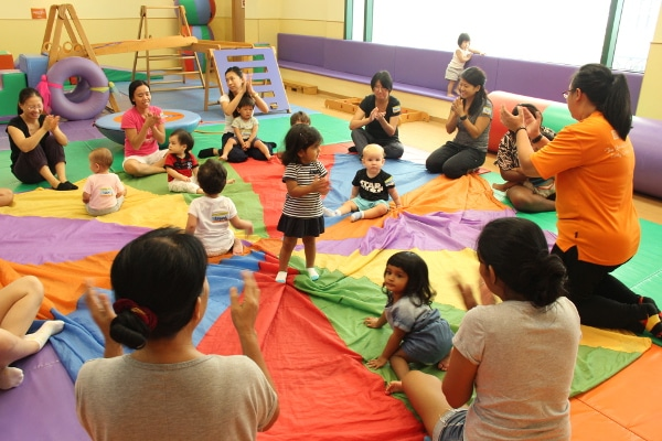 play based programmes for infants and toddlers Gymboree