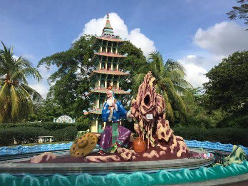 statues in Haw Par Villa Singapore