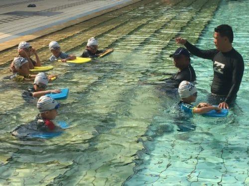 Aqzog swimming lessons