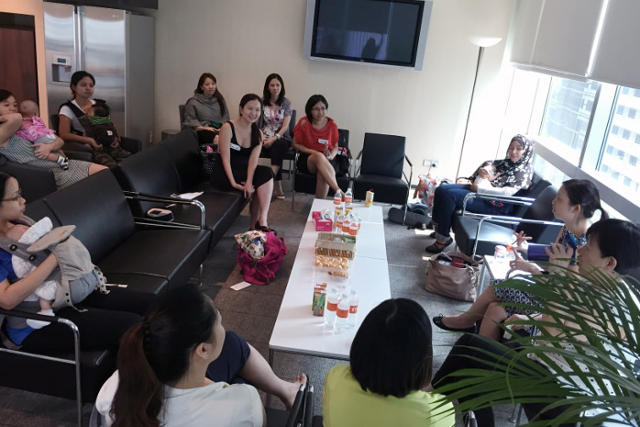 Breastfeeding Community Circle by ABAS and NTUC U Family Project Liquid Gold