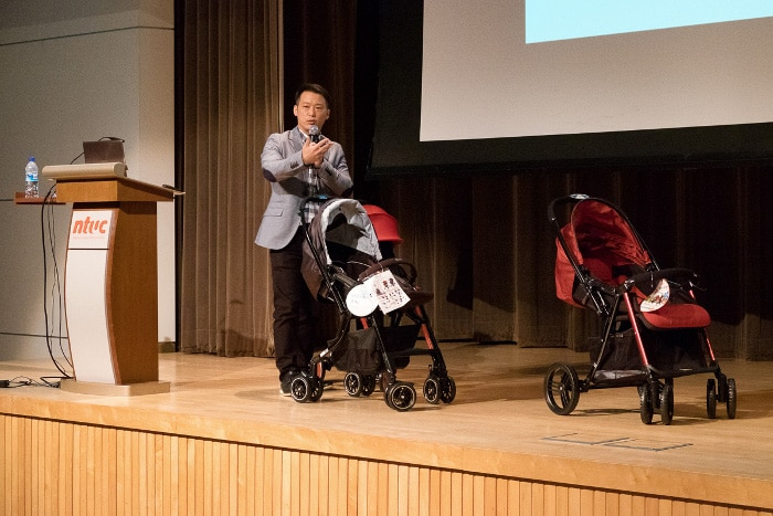 Choosing the right stroller for your baby Mr Tom Chang Combi