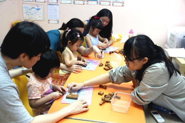 Happy Train English Brain Development Programmes for kids
