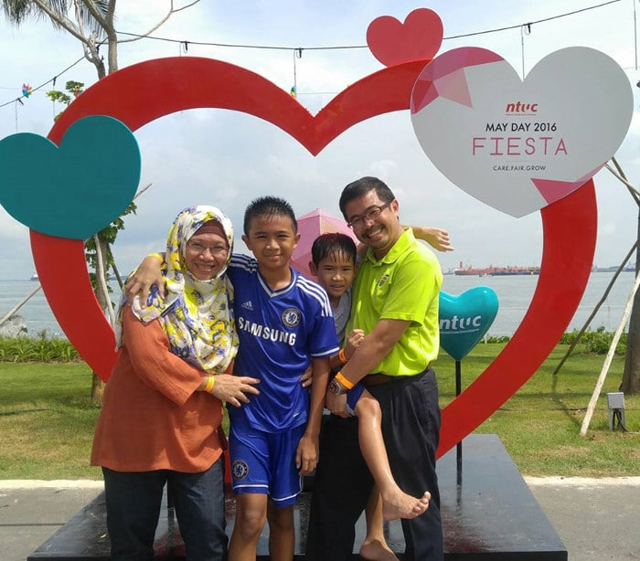 How to spend quality time with children in singapore Labour MP Zainal Sapari