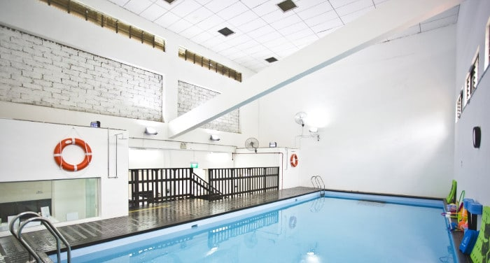 Indoor swimming pool for children Little Splashes Swim School Siglap CC