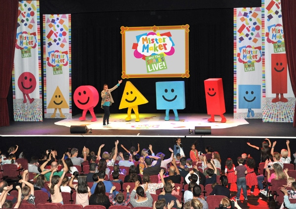 Kids show Mister Maker and The Shapes Live Show