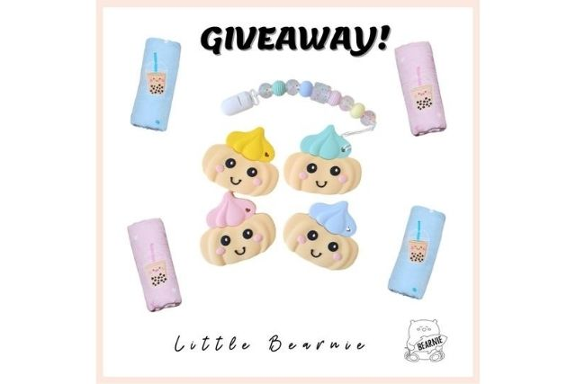 Little Bearnie Gem Biscuit Teethers and Boba Love Swaddles Giveaway