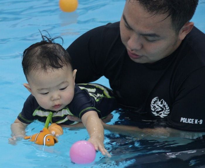 Infant Swimming in Singapore Little Splashes