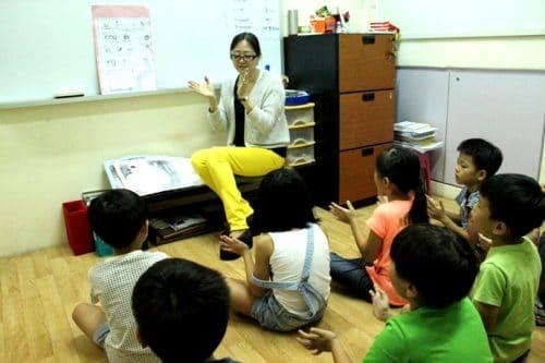Mandarin classes for P1 Molin Tutorial Centre