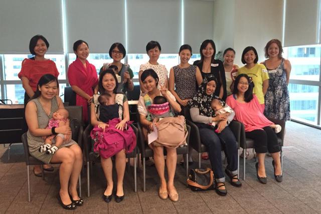 Mummies at the Breastfeeding Community Circle