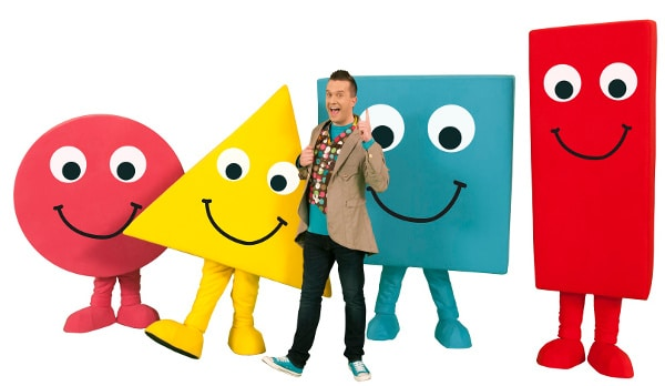 Popular Kids Show Mister Maker and the Shapes Image live in Singapore