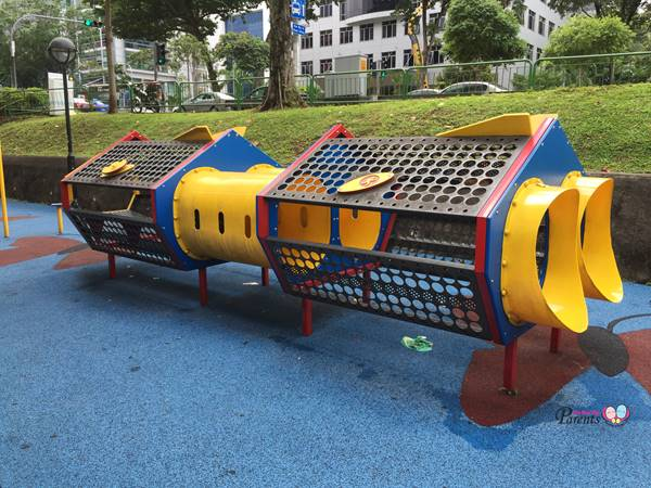 children playground in jalan bukit merah