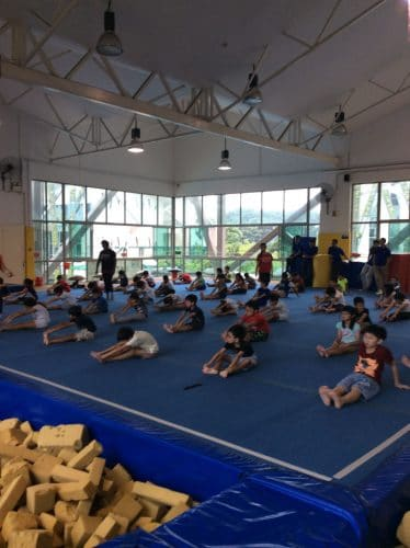 class in progress in bazgym