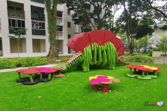 dinosaur playground fu shan park