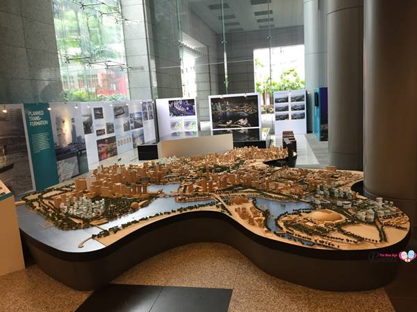 entire map of singapore at URA singapore city gallery