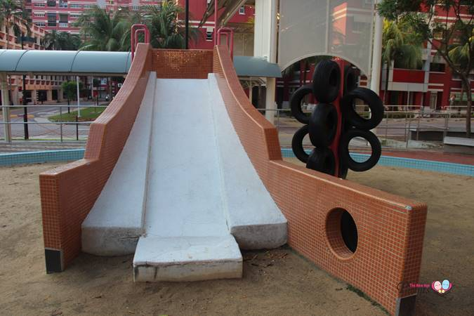 slide at old sand playground elias singapore