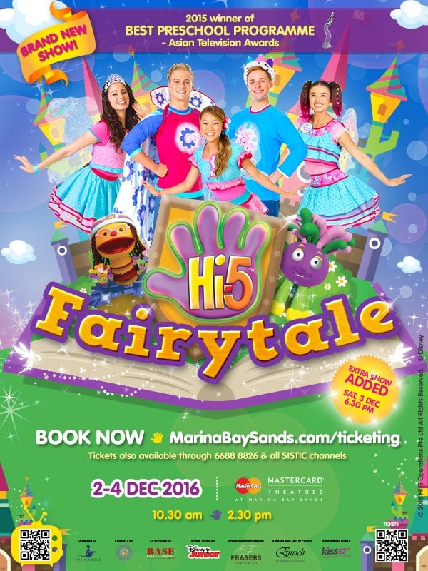 Hi-5 Fairytale Show Singapore