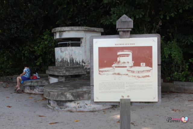 Labrador Park Machine Gun Pillbox Singapore