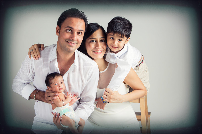 Motherhood stories Deepa Nanwani & Family