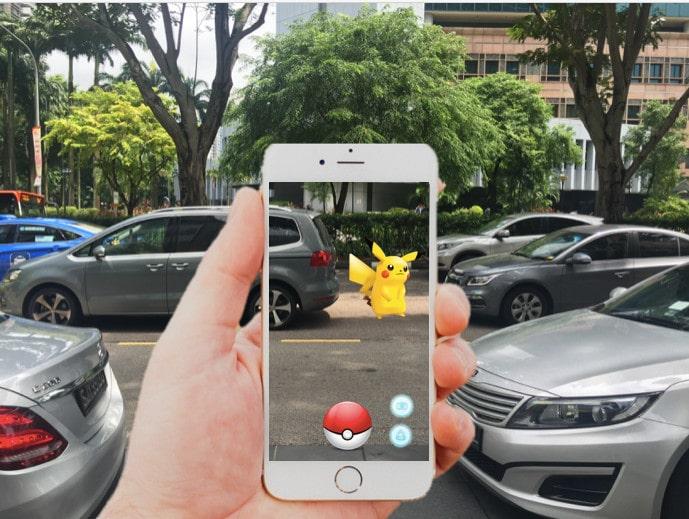 Pokémon GO Singapore Police Force's advisory