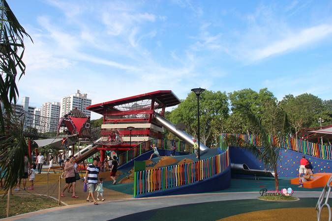 childrens playground marine cove singapore