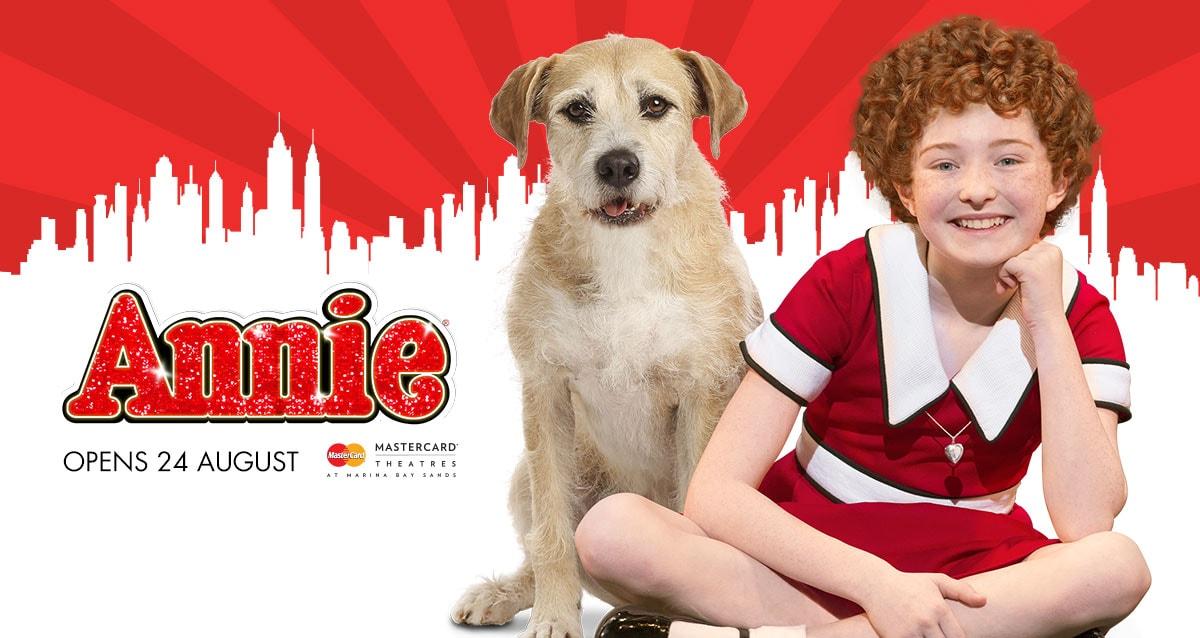 Annie musical singapore 2016
