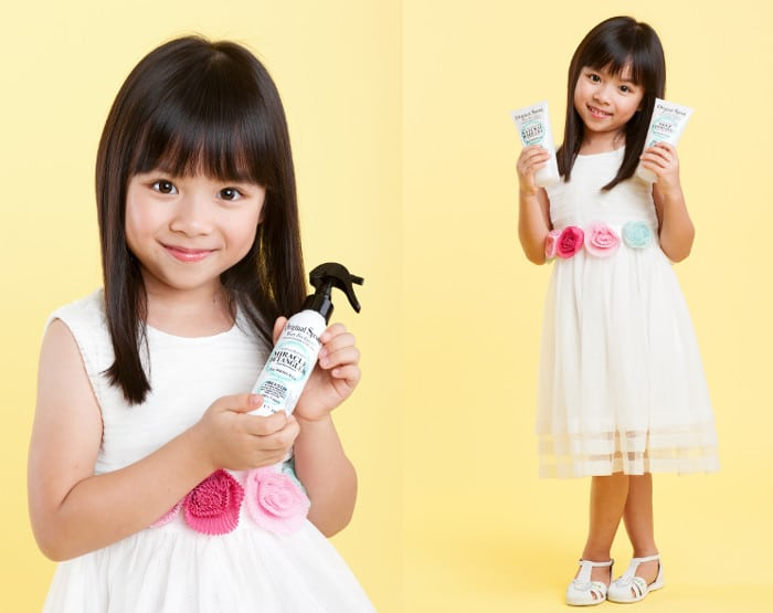 Kids hair detangler Original Sprout Singapore