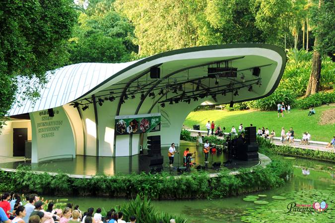 free concert at botanical gardens
