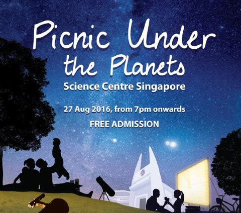 picnic under the planets science centre