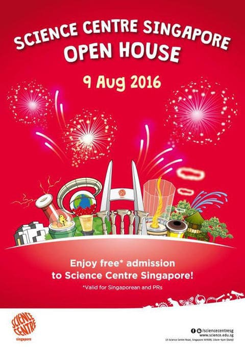 science centre free admission