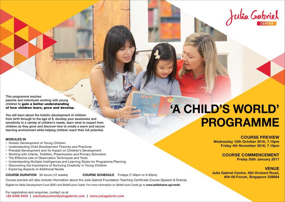 a childs world programme