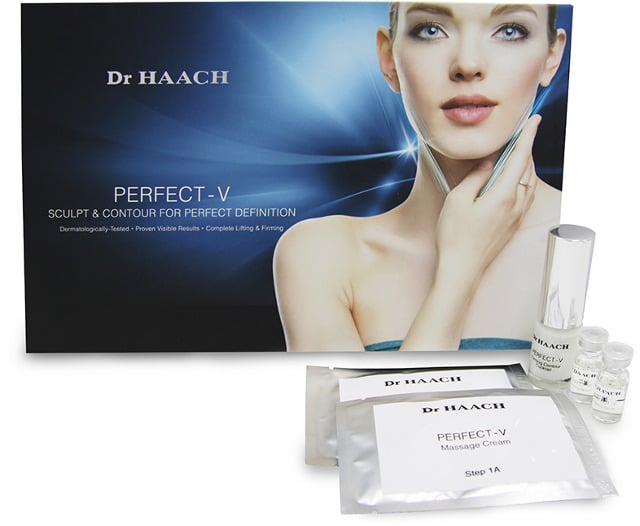 haach perfect v facial products