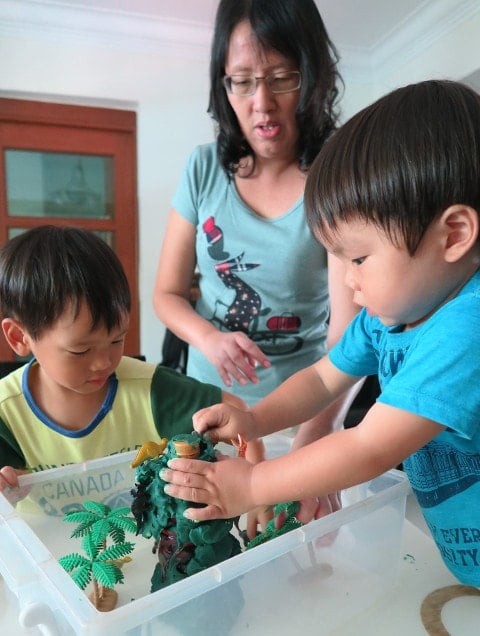 Homeschooling Mums In Singapore - Sue and kids